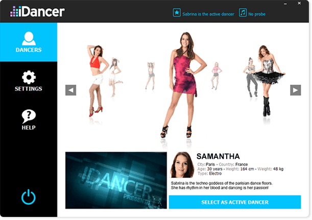 Screenshot of IDancer 0.90